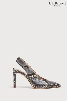 L.K.Bennett Animal Ilana High Heel Slingbacks