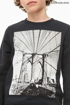 Calvin Klein Jeans Boys Photo Print Sweatshirt