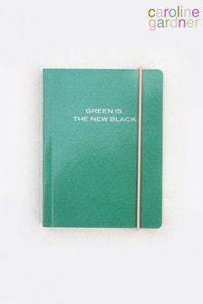 Caroline Gardner Green Small Chunky Notebook