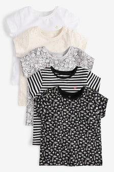 GIRLS PEPLUM Lace Sleeveless Top Blouse Vest Black White Age 9 10 11 12 13 14 UK