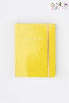 Caroline Gardner Yellow Small Chunky Notebook