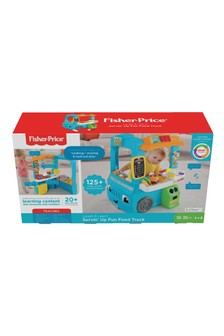 Fisher-Price Laugh And Learn Servin' Up Fun Food Truck Interactive Learning Toddler Role Play Toy