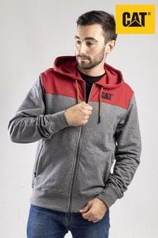 CAT® Lifestyle Grey Logo Block Fleece