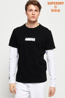 Superdry Black Label Edition Double Long Sleeve T-Shirt