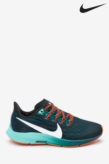 Nike Run Black/Blue Air Zoom Pegasus 36 Hakone Trainers
