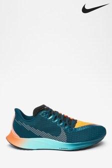 Nike Run Blue/Orange Zoom Rival Fly 2 Hakone Trainers