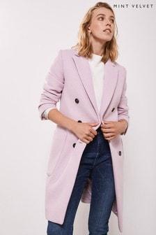 Mint Velvet Lilac Coat