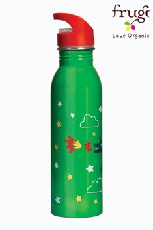 Frugi Green Large Steel Water Bottle