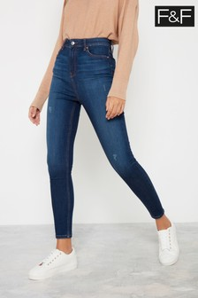 F&F Indigo Contour Jeans