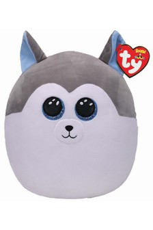 Ty Slush Husky Squish Toy