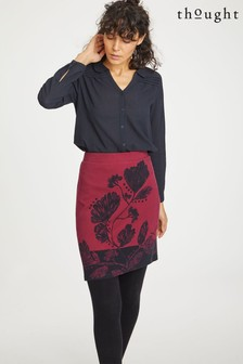 Thought Red Desdemona Skirt