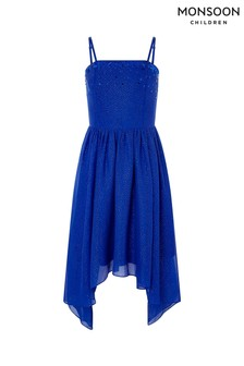 Monsoon Blue Madrid Prom Dress