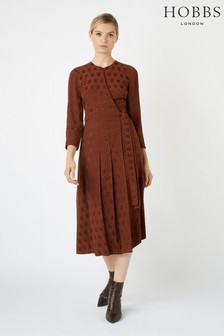 Hobbs Caramel Hazel Dress