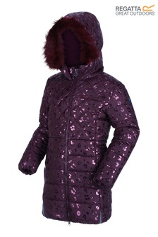 Regatta Purple Bernadine Insulated Coat