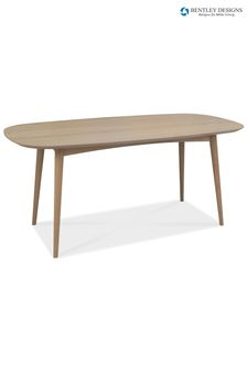 Dansk Scandi 6 Seater Dining Table by Bentley Designs