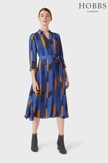 Hobbs Blue Dalia Dress