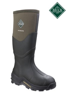 Muck Boots Green Muckmaster Hi Wellington Boots