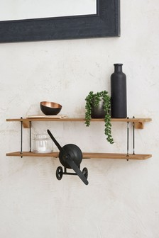 Salvage Aeroplane Shelf