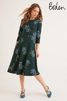 Boden Green Nancy Ponte Dress