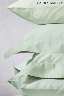 Set of 2 Duck Egg 400 Thread Count Cotton Pillowcases
