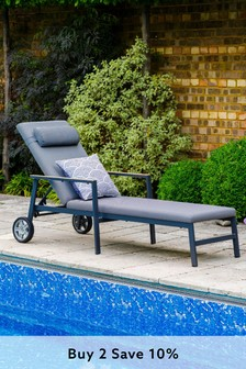 Stockholm Sunlounger by LG Outdoor