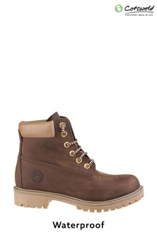 Cotswold Berrow Waterproof Lace-Up Ankle Boots
