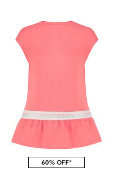 Emporio Armani Baby Girls Pink Dress