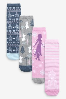 Frozen 2 Ankle Socks Four Pack