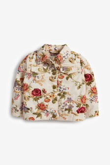 Floral Demin Jacket (3mths-7yrs)