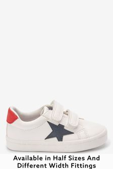 Star Strap Touch Fastening Shoes (Younger)