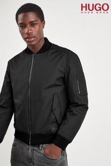 HUGO Black Boris Bomber Jacket