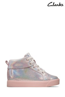 Clarks Pink City Oasis HT Boots
