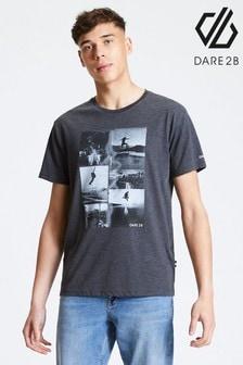 Dare 2b Grey Token Printed T-Shirt