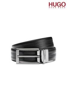 HUGO Black Gilvio Reversible Belt