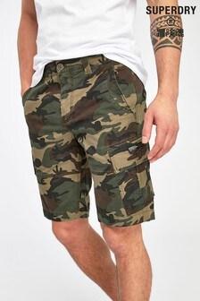 Superdry Camouflage Cargo Shorts