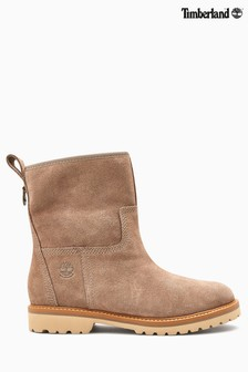 Timberland® Taupe Suede Chamonix Valley Boots