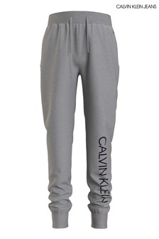Calvin Klein Jeans Grey Institutional Logo Sweatpants