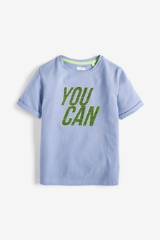 Slogan T-Shirt (3-16yrs)