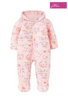 Joules Pink Snuggle Printed All-In-One