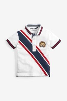 Short Sleeve Tiger Sash Polo (3mths-7yrs)