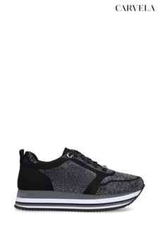 Carvela Langley Black Trainers