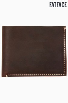 FatFace Brown Stitch Detail Wallet