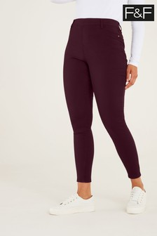 F&F Berry Jeggings
