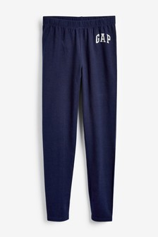 Gap Navy Logo Leggings