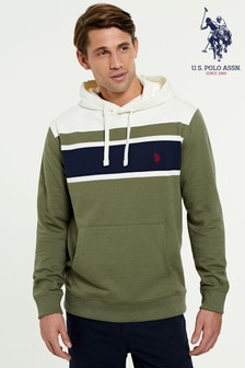 U.S. Polo Assn. Engineered Colourblock Hoody