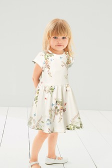 Floral Ponte Dress (3mths-6yrs)