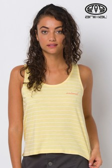 Animal Yellow Cheerleader Graphic Vest