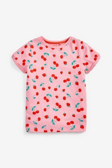 Pure Organic Cotton Regular Fit T-Shirt (3-16yrs)