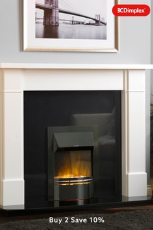 Dimplex 2kW Dakota black Electric Optiflame Inset Fire