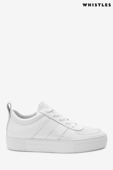 Whistles White Anna Trainers
